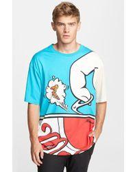 Moschino 'Drink ' Oversize T-Shirt - Lyst