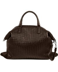 Bottega Veneta Intrecciato Convertible Tote brown - Lyst