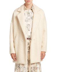 La Prestic Ouiston - Deauville Virgin Wool-blend Coat - Lyst