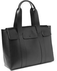 Gap Leather Satchel - Lyst