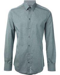 Dolce & Gabbana Microdots Shirt - Lyst