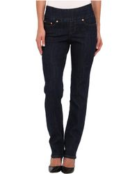 Jag Jeans Peri Pullon Straight in Dark Shadow - Lyst