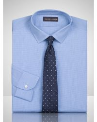Ralph Lauren Black Label Houndstooth Sloan Dress Shirt - Lyst