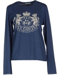Juicy Couture Long Sleeve Tshirt - Lyst