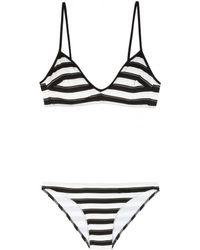 Chloé - Striped Bikini - Lyst