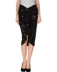 Givenchy Knee Length Skirt - Lyst