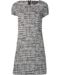 Derek Lam Tweed Print Twill Dress - Lyst