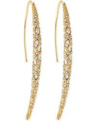 Alexis Bittar Miss Havisham Crystal Spear Earrings - Lyst