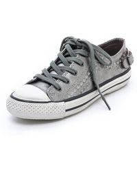 Ash Virgo Metallic Sneakers - Lyst