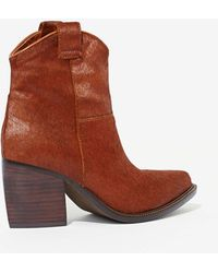 Nasty Gal Jeffrey Campbell Wrangler Pony Hair Boot - Lyst