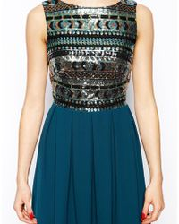 TFNC Sara Dress With Aztec Sequin Top multicolor - Lyst