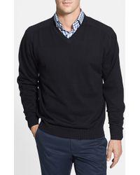 Cutter & Buck 'Broadview' V-Neck Sweater - Lyst