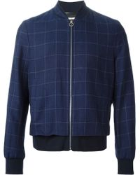 Paul Smith Bomber Jacket - Lyst