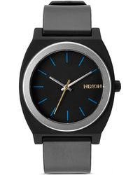 Nixon The Time Teller Buckle Strap Watch, 40Mm - Lyst