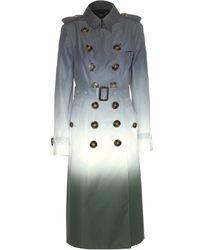 Burberry Prorsum Silk Trench Coat - Lyst