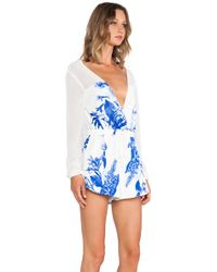 Style Stalker Love On Top Romper - Lyst