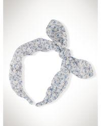 Ralph Lauren Floral Headband - Lyst