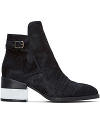 Nasty Gal Jeffrey Campbell Leto Pony Hair Boot - Lyst