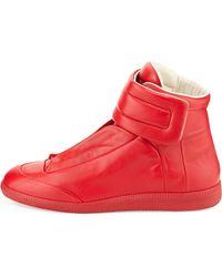 Maison Margiela Future High-Top Sneakers - Lyst