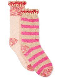 Jessica Simpson - Crochet Cuff Cozie 2 Pack - Lyst