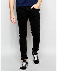 ADPT - Dpt Acid Wash Skinny Fit Jeans With Stretch - Lyst