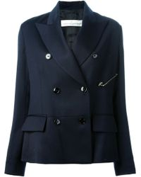 Golden Goose Deluxe Brand Double Breasted Jacket - Lyst