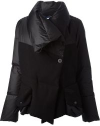 Griffin - Oversized Collar Padded Jacket - Lyst