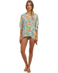 Trina Turk Cosmos Covers Tunic - Lyst