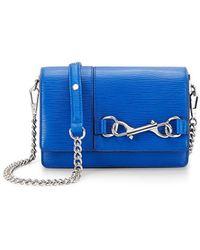 Rebecca Minkoff Bedford Crossbody blue - Lyst