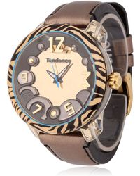 Tendence Animal 3H Tiger Watch - Lyst