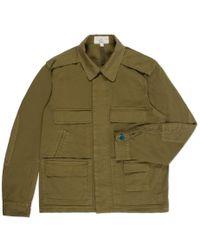 Paul Smith Khaki Multi-Pocket Utility Jacket khaki - Lyst