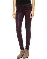 Rag & Bone Coated Legging Jeans  - Lyst