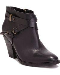 Dolce Vita Harlene Leather Booties - Lyst