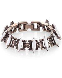 Dannijo Bette Crystal Link Bracelet - Lyst