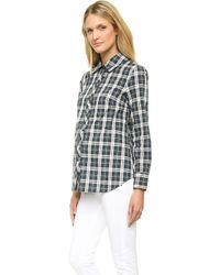 Rosie Pope - Classic Maternity Shirt - Weekend Plaid - Lyst