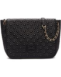 Tory Burch | Marion Quilted Small Flap Shoulder Bag | Lyst