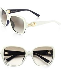 Dior Oversized Square Sunglasses - Lyst