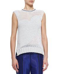 Risto - Bosphorous Knit Heart Sweater - Lyst