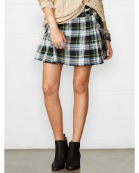 Denim & Supply Ralph Lauren Pleated Plaid Kilt - Lyst