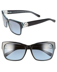 Michael Kors 58Mm Sunglasses black - Lyst