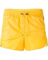 Neil Barrett Classic Swimming Shorts - Lyst