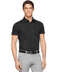 Calvin Klein Dressy Refined Slim-Fit Polo - Lyst