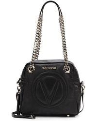 Valentino Palermo Leather Shoulder Bag - Lyst