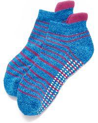 Pointe Studio - Donna Cushioned Grip Socks - Lyst