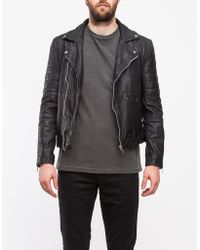 Shop Men&39s TOPMAN Leather Jackets from $75 | Lyst