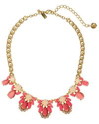 Kate Spade Steamer Glow Graduated Necklace - Lyst