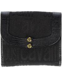 Just Cavalli Wallet black - Lyst