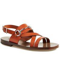 Gucci 'Juliette' Flat Bit Sandal - Lyst
