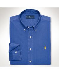 Polo Ralph Lauren Customfit Poplin Sport Shirt - Lyst
