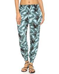 Mikoh Swimwear - Kahuku Harem Trousers - Lyst